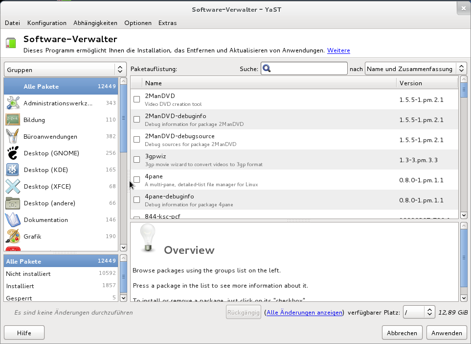 Portal:Paket-Management – openSUSE Wiki