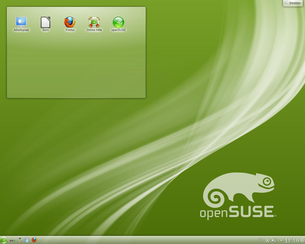Gelöst] Plasma Desktop - Arbeitsfläche???... Anfängerfrage ...